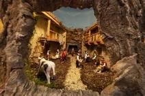 La Ruta de Belenes de Candás comienza a recibir visitantes