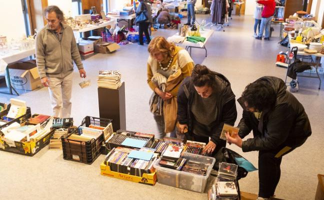 Porrúa celebra su mercado solidario