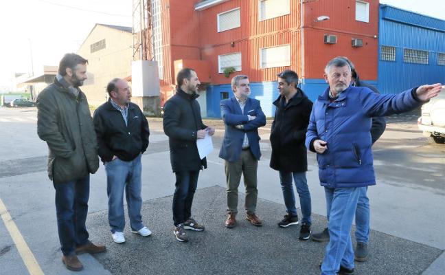Siero finaliza el saneamiento de los polígonos de Los Peñones y Puente Nora