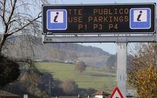 Los paneles de acceso a Covadonga incorporan nueva información