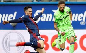 Eibar y Levante firman tablas en una oda al fútbol de ataque