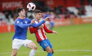 El Sporting B aprovecha los regalos del Bilbao Athletic
