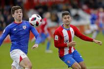 Sporting B 3-1 Bilbao Athletic, en imágenes