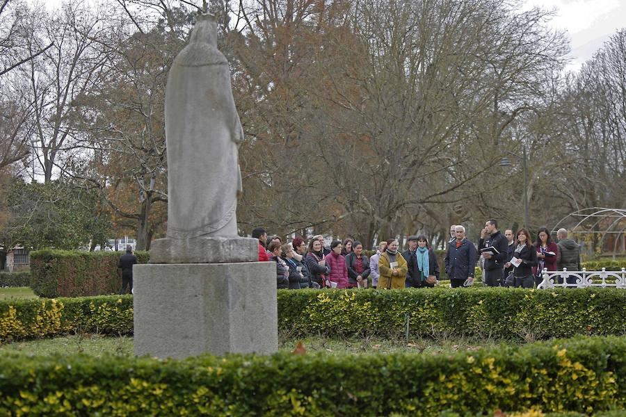 Visita guiada al parque Isabel la Católica