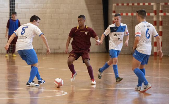 Asturclín Castaño gana al Logroño con un frenesí goleador en Las Vegas (11-10)