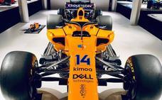 El último Fórmula 1 de Fernando Alonso se quedará en Asturias