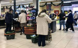 Los supermercados asturianos confían en llegar a un acuerdo y evitar la huelga en navidades
