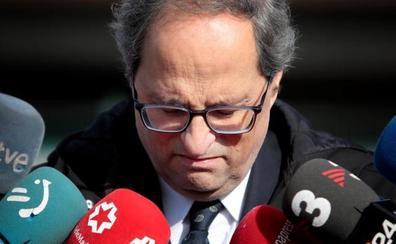Torra da marcha atrás y cierra la crisis de los Mossos sin ningún cese