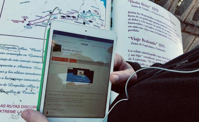 El audiolibro 'Boroña', distinguido por el colegio de Informáticos