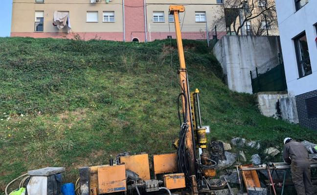 Arranca el estudio geotécnico de los pisos de Vipasa en Tineo