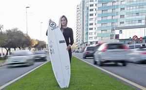 Lucía Martiño, la buscadora de olas