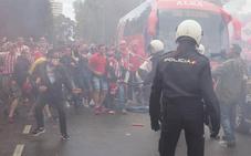 Confusión de Tebas al informar de una pelea entre hinchas del Sporting y Oviedo que no existió