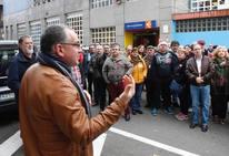 Encierro simbólico de CC OO en el Inem para exigir soluciones a la Casa Sindical