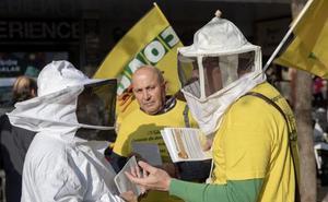 Los apicultores reivindican la calidad de la miel asturiana frente a la importada