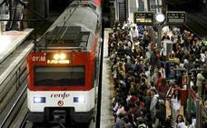 Convocados dos días de huelga en el ferrocarril en Navidad