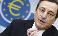 Draghi apaga el «motor» de las compras pero teje una red de seguridad para el euro