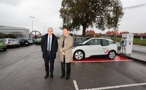 EDP ubica 10 puntos de recarga para coches eléctricos en campus de Oviedo, Gijón y Mieres