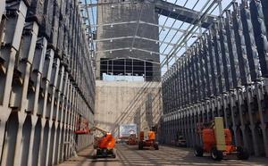 Arcelor retoma la obra en las baterías de Gijón tras conseguir nuevo material