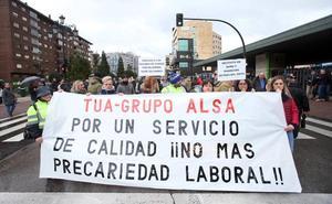 «El grupo quiere aumentar sus grandes beneficios a costa de los trabajadores de TUA»