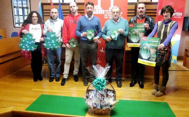 Sorteos navideños en San Martín para fomentar el comercio local