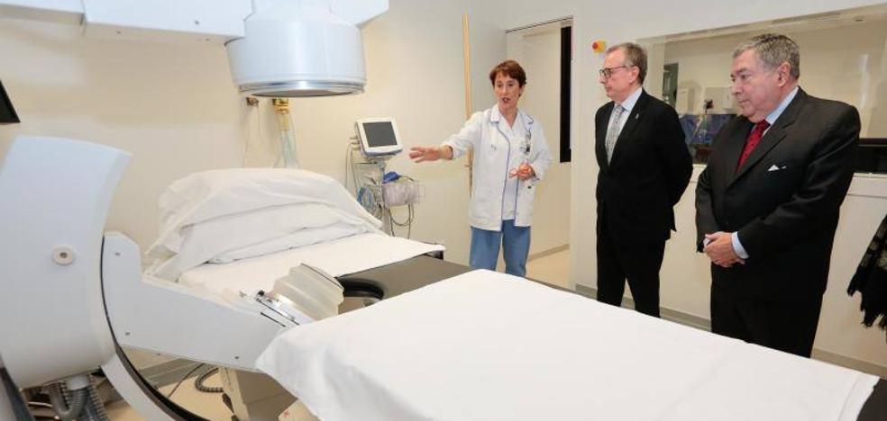 El Hospital de Jove concluye las obras de ampliación tres meses antes de lo previsto
