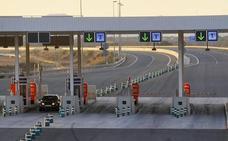 Las autopistas de peaje rescatadas serán gratis por la noche, mientras la tarifa del Huerna sube casi un 1,7%