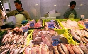 El mal tiempo dispara el precio del pescado, que se duplica en una semana