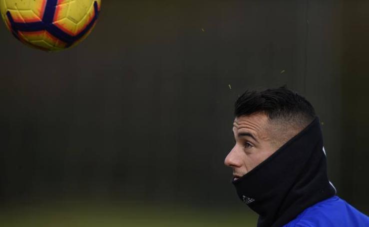 Entrenamiento del Real Oviedo (14-12-2018)