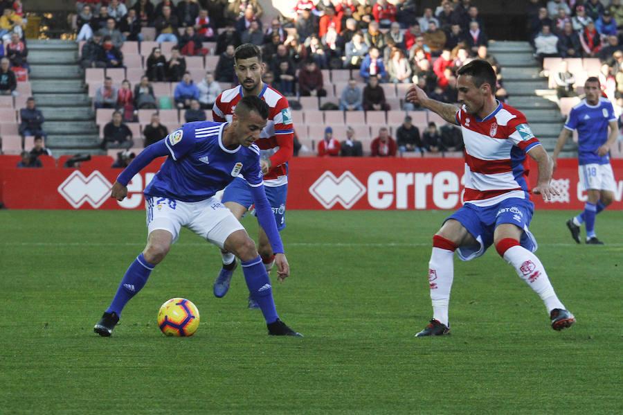 El Real Oviedo pierde ante el Granada