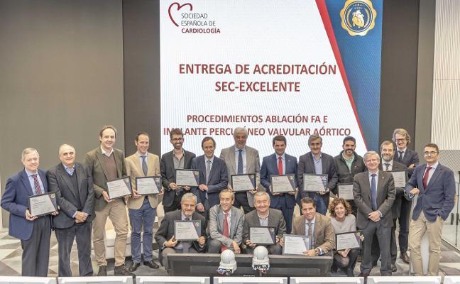Premio de excelencia para el HUCA por los implantes valvulares aórticos