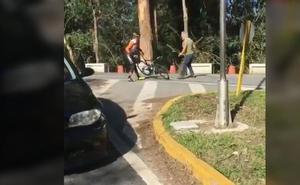 Ence se niega a reincoporar al camionero que agredió a un ciclista como exigen los transportistas de madera