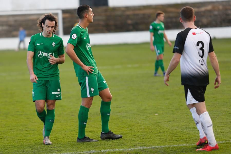 Las imágenes del Tudelano 1-0 Sporting B