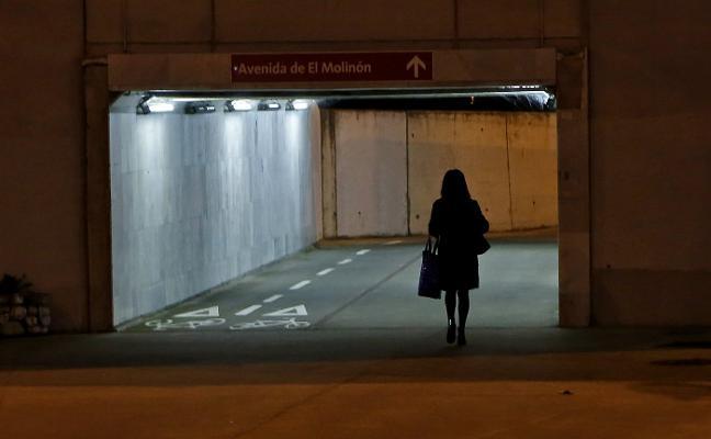 Los 'espacios del miedo' de Gijón