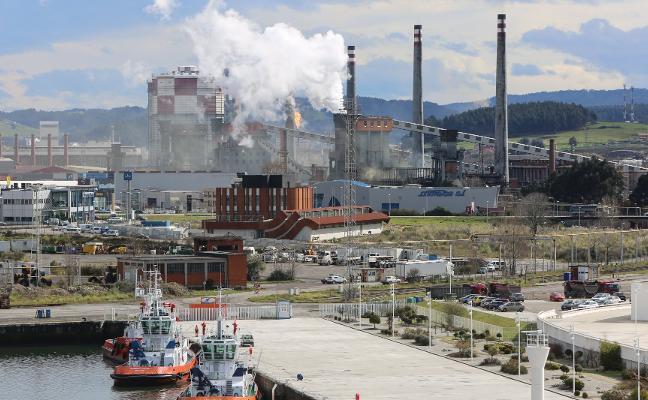 La prórroga del ERE en Arcelor amplía a enero las paradas previstas en Avilés