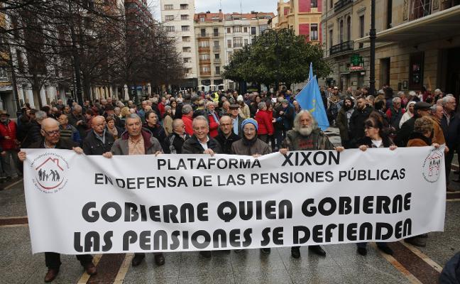 Las pensionistas vuelven a tomar las calles para exigir el blindaje del sistema público