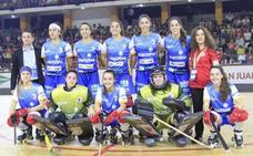 El Telecable Hockey gana al descanso en la final de la Copa Intercontinental