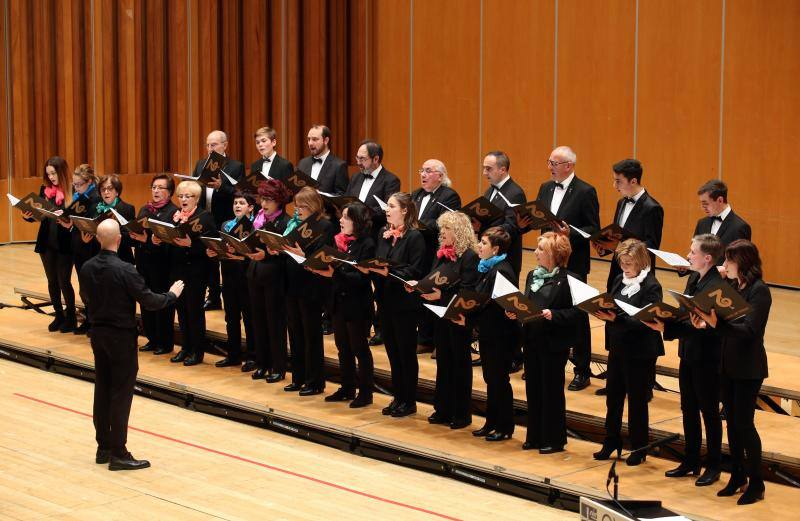 Concierto de coros organizado por la Asociación Belenista de Oviedo
