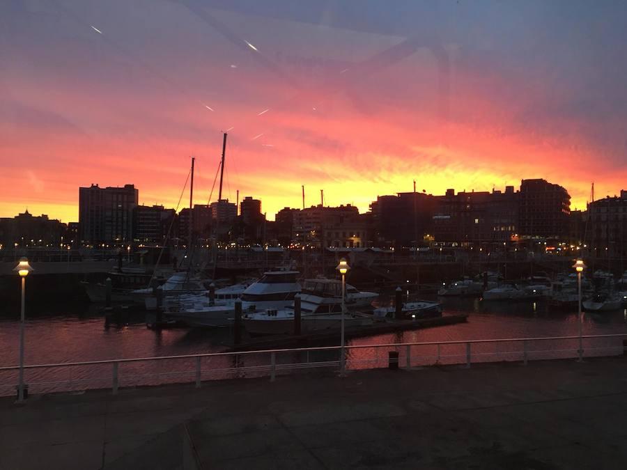 Espectaculares amaneceres en Asturias
