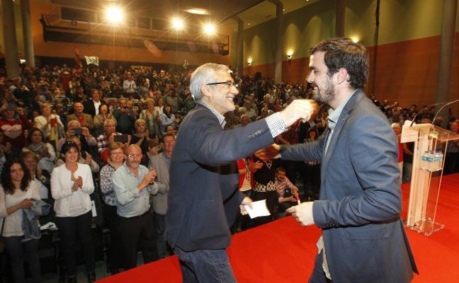 IU ve «incompatible» que Llamazares lidere la lista en Asturias y apoye Actúa