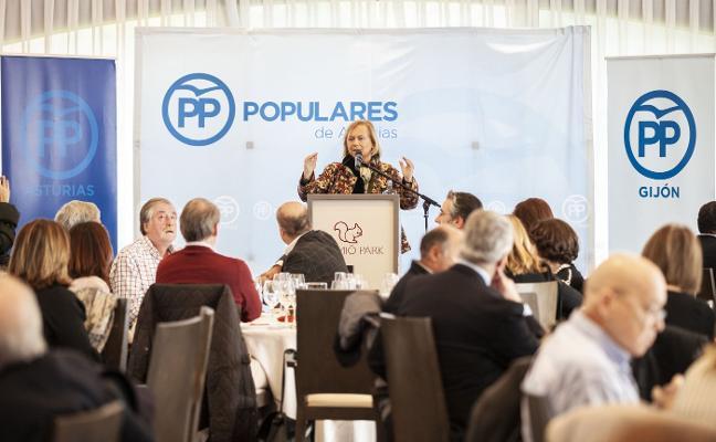 Mercedes Fernández: «No descarto la coalición con Foro, pero me canso de recibir guantazos»