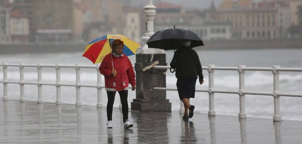 El invierno traerá más lluvia de lo habitual en Asturias