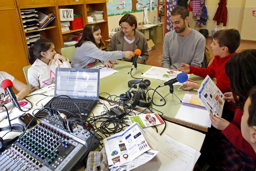 La salud, una prioridad para el colegio Miguel de Cervantes de Gijón