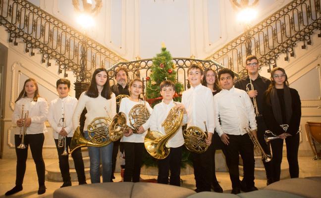 Concierto de los alumnos de trompa y trompeta