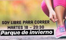 «Soy libre para correr»: concentración en Oviedo en repulsa por el asesinato de Laura Luelmo