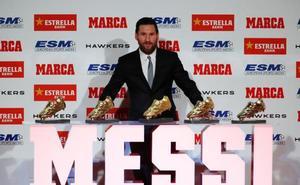 Messi recibe su quinta Bota de Oro con el mejor elogio posible