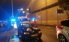 Un hombre, herido muy grave tras ser atropellado en Gijón