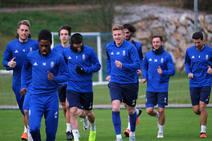 Entrenamiento del Real Oviedo (18-12)