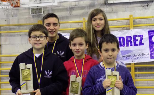 Biempica, Sierra, Vergara, Joglar y Guedes, nuevos campeones escolares