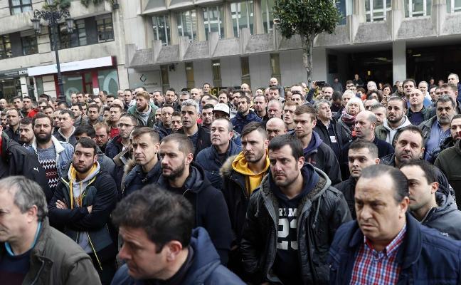 El retraso en el plan de Hunosa a trece días de acabar el plazo recrudece las protestas mineras
