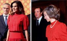 El homenaje de Letizia a la reina Sofía en la gran cita de la moda española